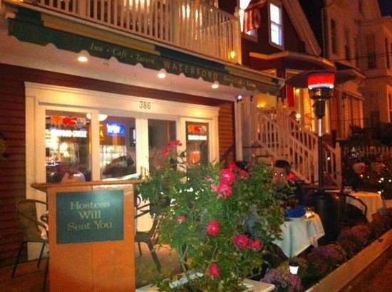 The Seafood Grille at The Waterford: Outside Patio