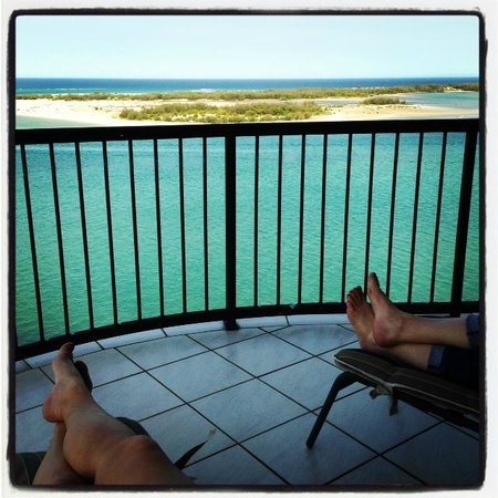 Windward Passage Holiday Apartments: Balcony - one of...