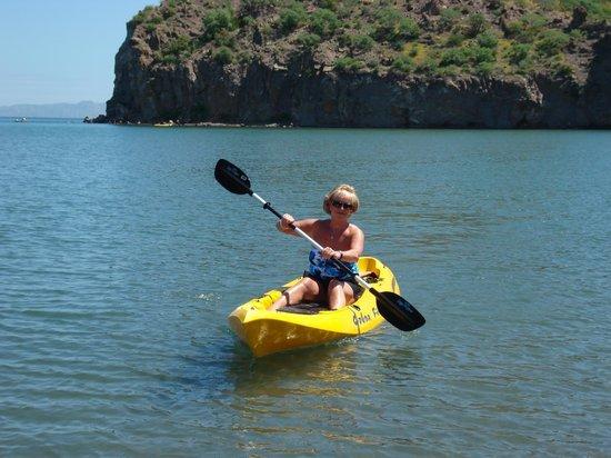 Loreto Bay Golf Resort & Spa at Baja: kayaking