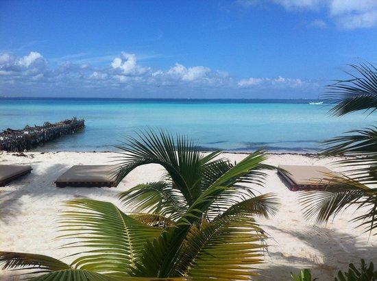 Na Balam Beach Hotel : na balam restaurant view