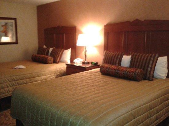 Seneca Allegany Resort & Casino: Comfortable rooms.