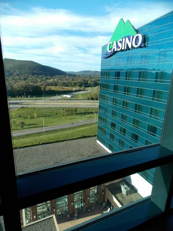 Seneca Allegany Resort & Casino : View from our room.