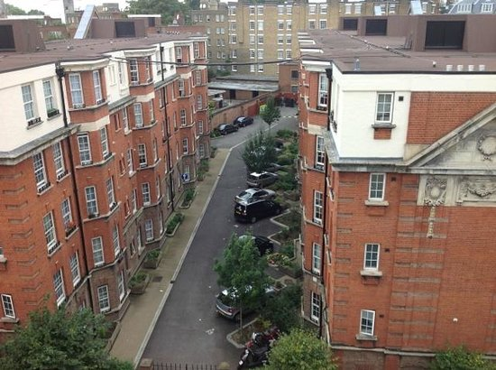My Chelsea : View from our 4th floor room