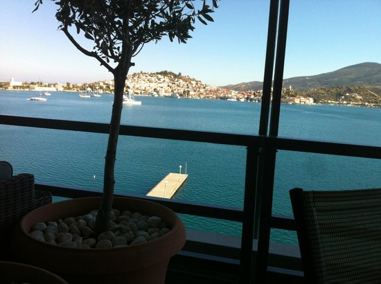 Xenia Poros Image Hotel: View from the veranda
