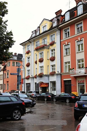 Das Nikolai Hotel: Hotel from the street