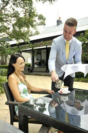 Bella Char Restaurant + Wine Bar: Courtyard High Tea