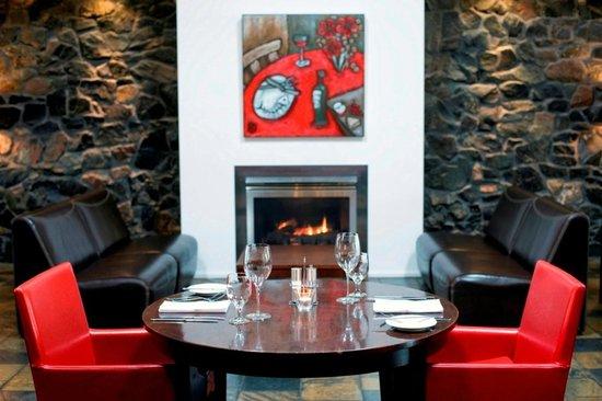 Bella Char Restaurant + Wine Bar Fireplace