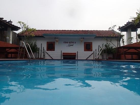 Vinh Hung Library Hotel: Good pool, clean and quiet.