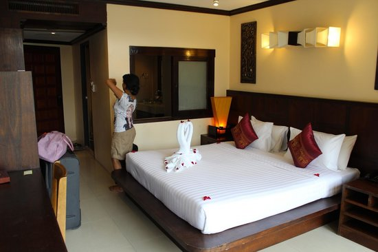 Club Bamboo Boutique Resort and Spa : Our Room