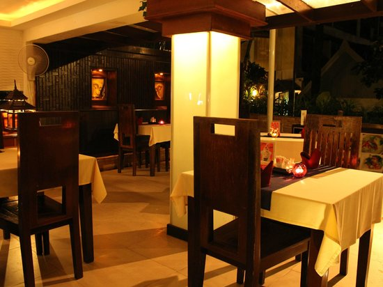 Club Bamboo Boutique Resort and Spa: Restaurant