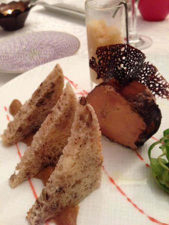 Restaurant Le Grand Bleu: Fois Gras