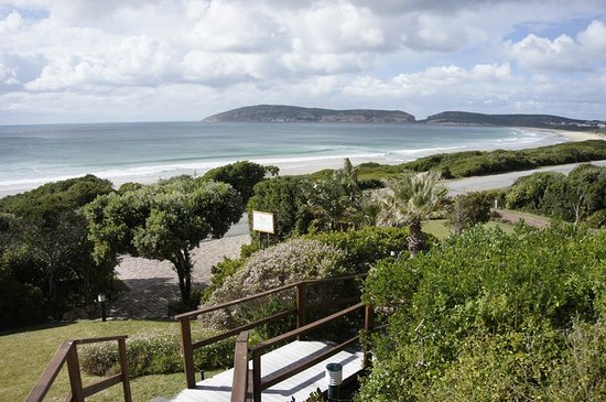 The Robberg Beach Lodge: Ausblick