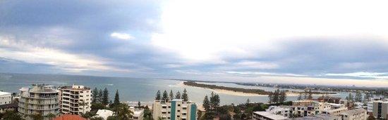 Aspect Caloundra: Lovely panoramic views