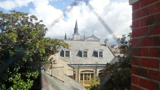 Bourbon Orleans Hotel: View of cathedral from room.