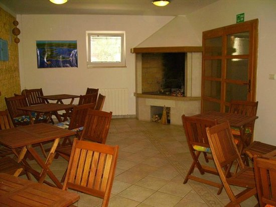 Villa Velina: La jolie petite cuisine...  toujours selon le site de Booking