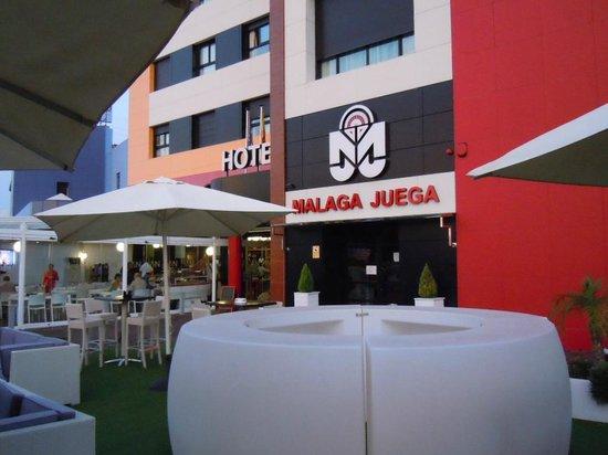 Hotel Malaga Nostrum : front