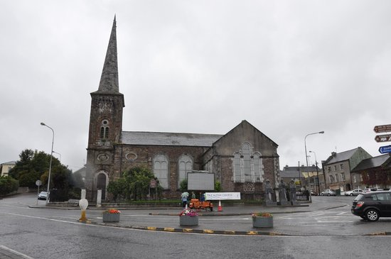 Christ Church, Church of Ireland, Fermoy, County Cork: View from the river side