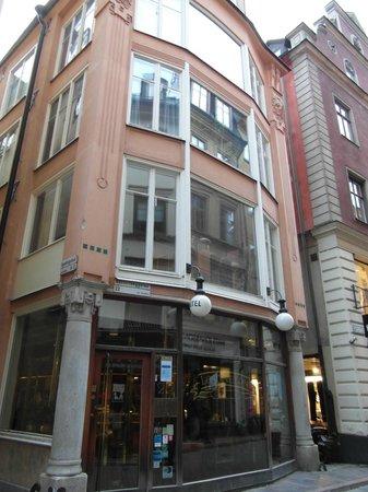 Lord Nelson Hotel : Het smalste (6 meter) hotel van Stockholm