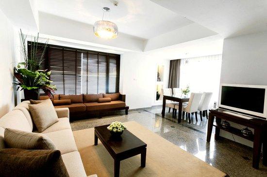 The Celadon bangkok: Living Room1