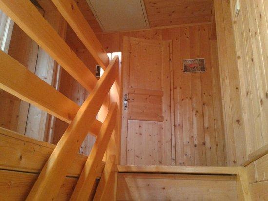 Bischofhutten: oben sind die Schlafzimmer