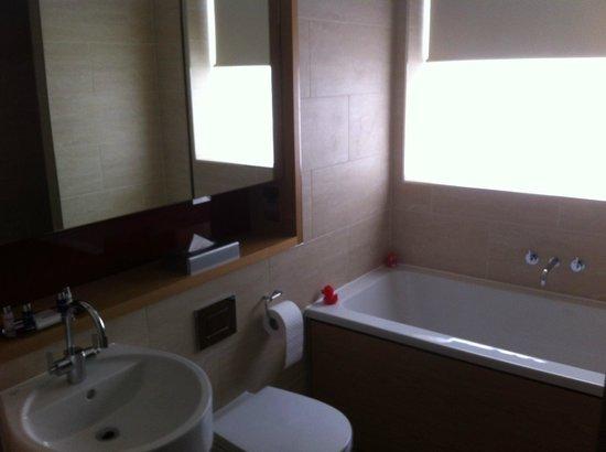 Apex Temple Court Hotel: Twin room 344 (bathroom)