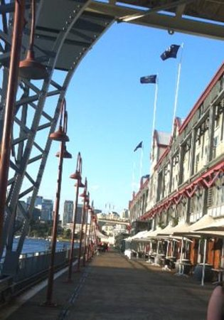 Pier One Sydney Harbour, Autograph Collection : western side of the pier