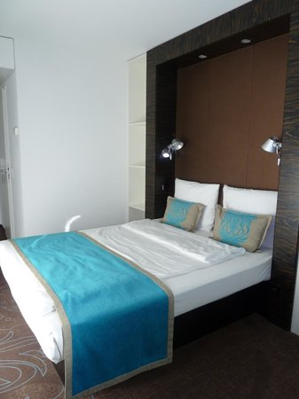 Motel One Berlin-Bellevue: Bed