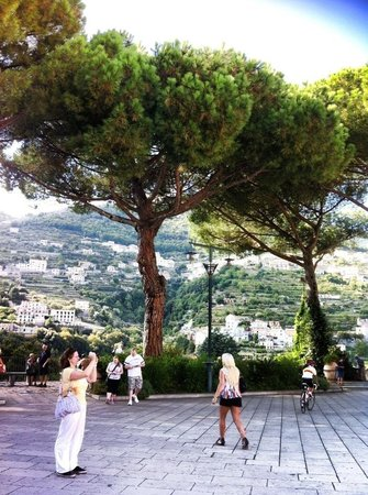 Drive through Paradise - Day Tours : View from Ravello back towards mountains