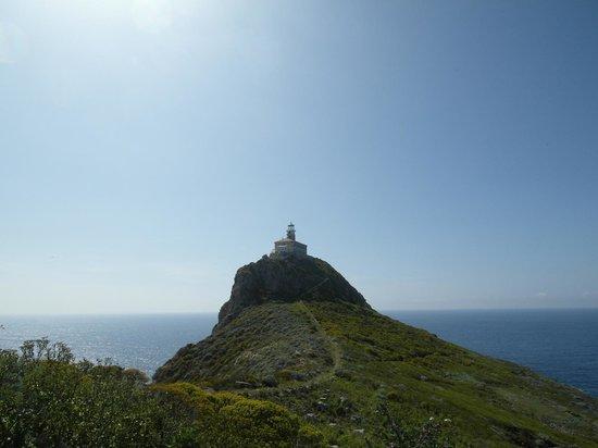 Island Palagruza: The lighthouse