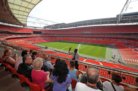 Wembley, UK: The Best Views of the UK's Largest Stadium