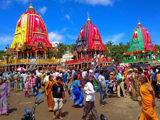 Badrinath, India: Jagannath Dham Rath yatra.Puri, Odisha.