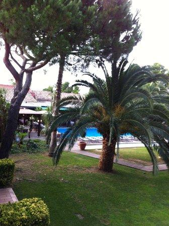 Restaurant Villa Duflot : vue de notre chambre