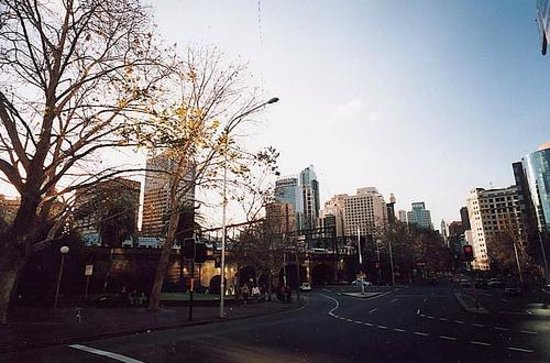 Hyde Park Backpackers : Great location.