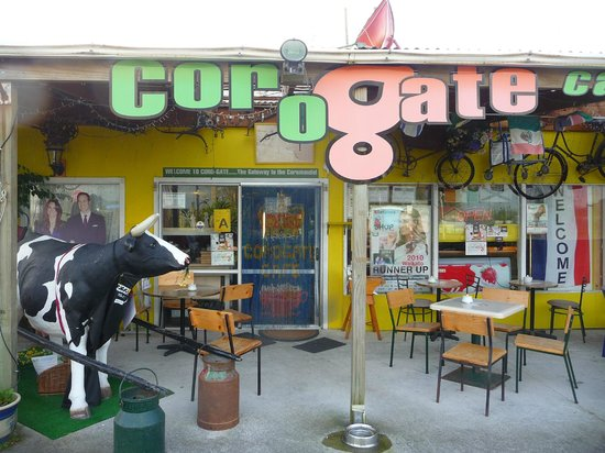 Corogate Cafe: The themed cafe