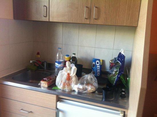 Philoxenia Hotel & Studios: Mutfağımız