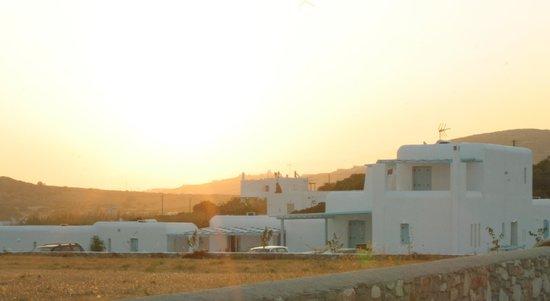 Blue Mare Villas: the villa at sunset