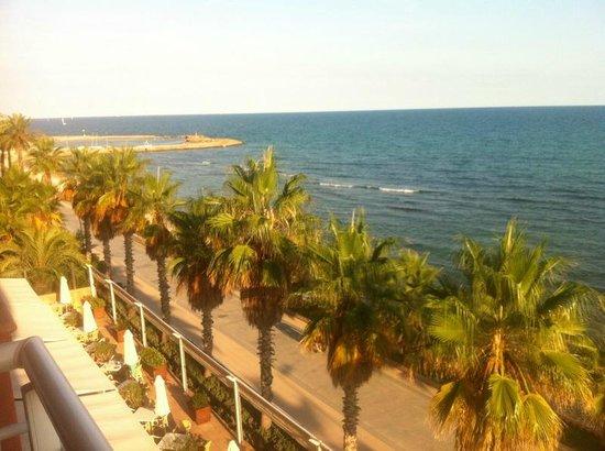 Sunway Playa Golf Hotel & Spa Sitges: Blick bom Balkon