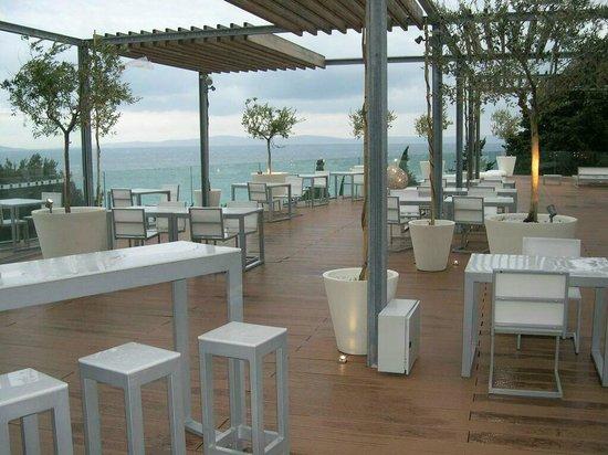 Radisson Blu Resort Split: Terrassen-Restaurant