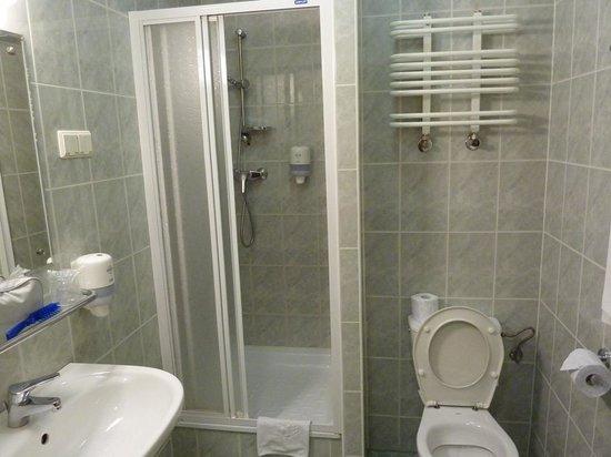 Gromada Hotel: baño