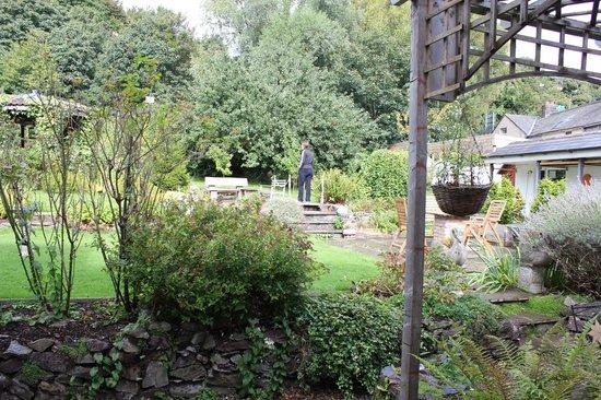 Belvedere Lodge: giardino fuori dalla camera