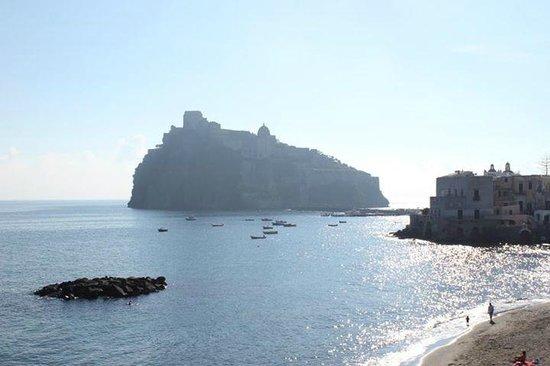 Miramare e Castello Hotel: Panorama dalla camera