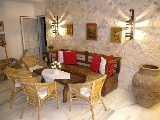 Atrium Hotel : soggiorno comune