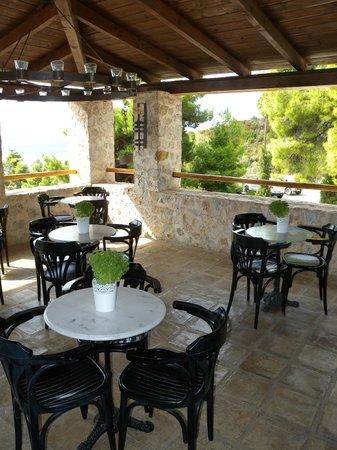 Atrium Hotel : terrazza comune