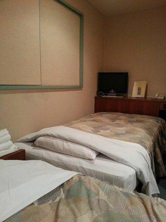Takamatsu Peal Hotel : Room 511 twin bed