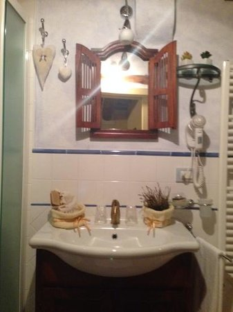 La Citta Ideale Suites: bagno