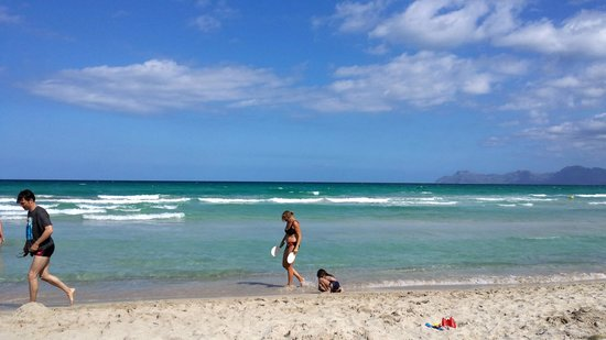 Playa de Muro Beach: Playa de Muro, in front of Iberostar Albufera Playa Resort