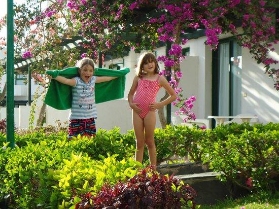 Capri Bungalows: Out side the bungalow