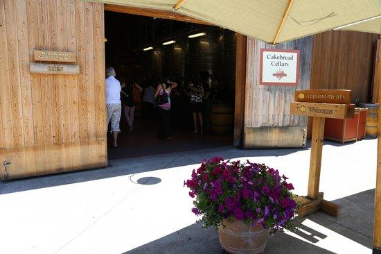 Cakebread Cellars : More Tasting Room