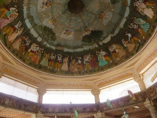 ISKCON Temple, Ahmedabad: The Dome