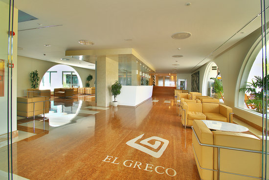 El Greco Apartments: recepcion